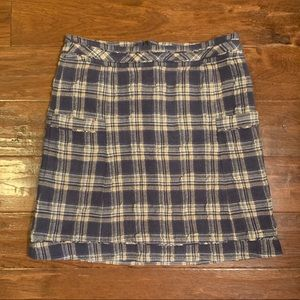Plaid Skirt from Anthropologie (Cordelia)